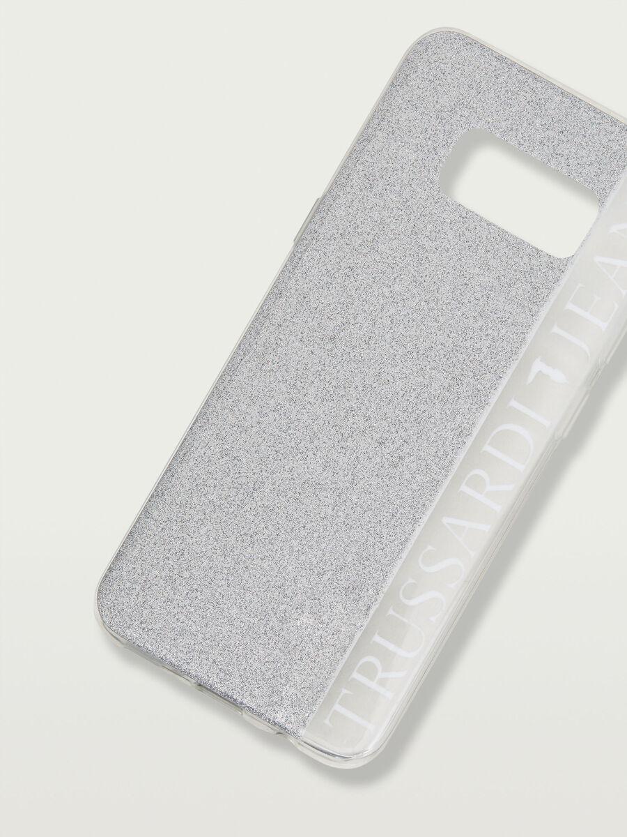 Funda Galaxy S8 suave con lentejuelas