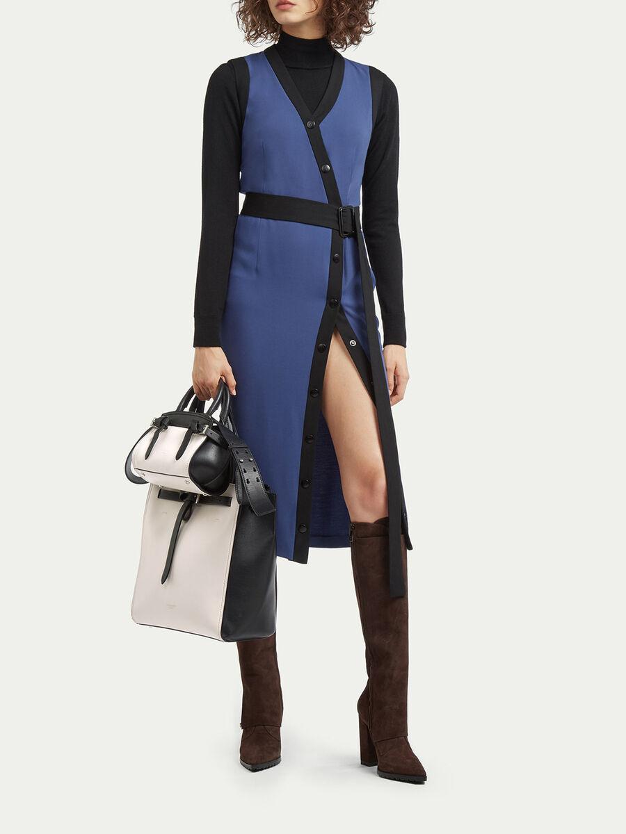 Mini Gita Bag mit Farbblocks