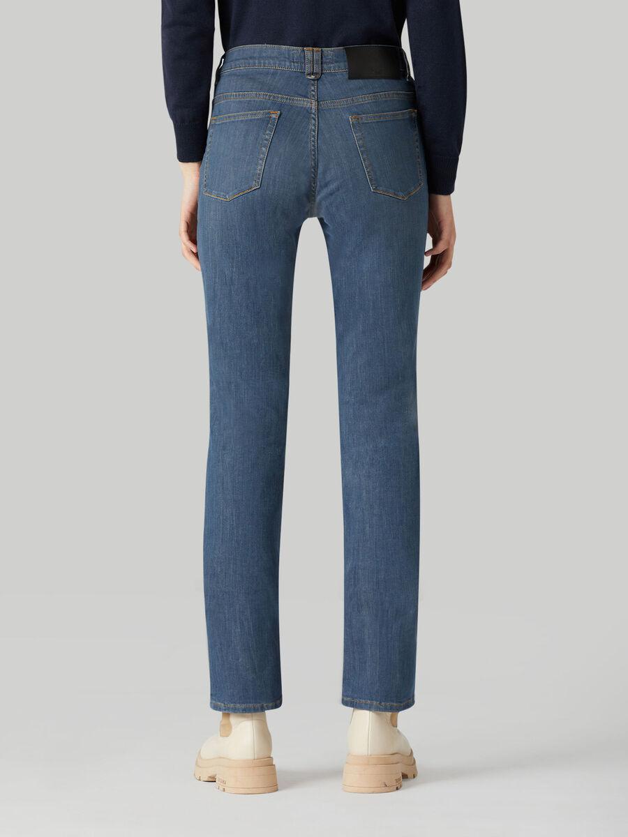 Classic 130 jeans in Green Cast denim