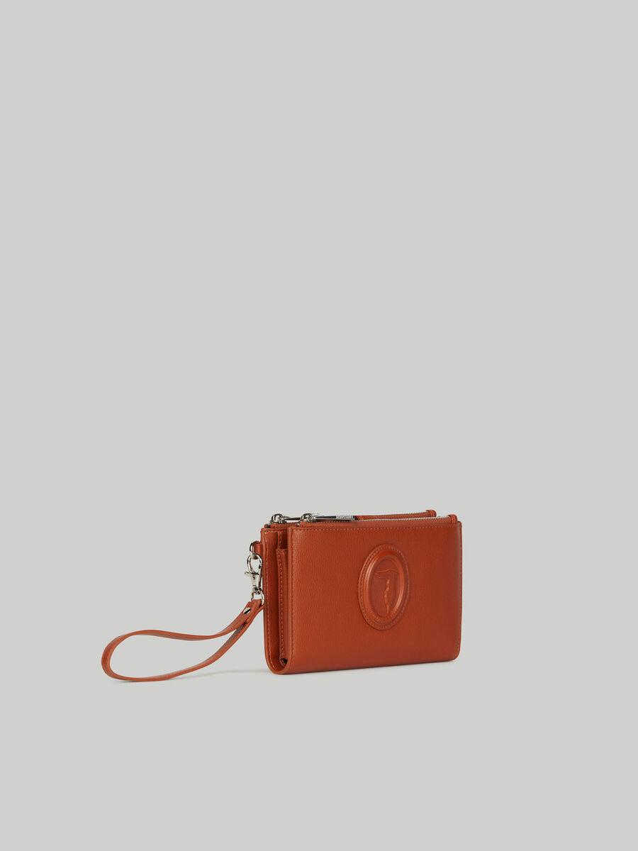 Mia purse with double zip