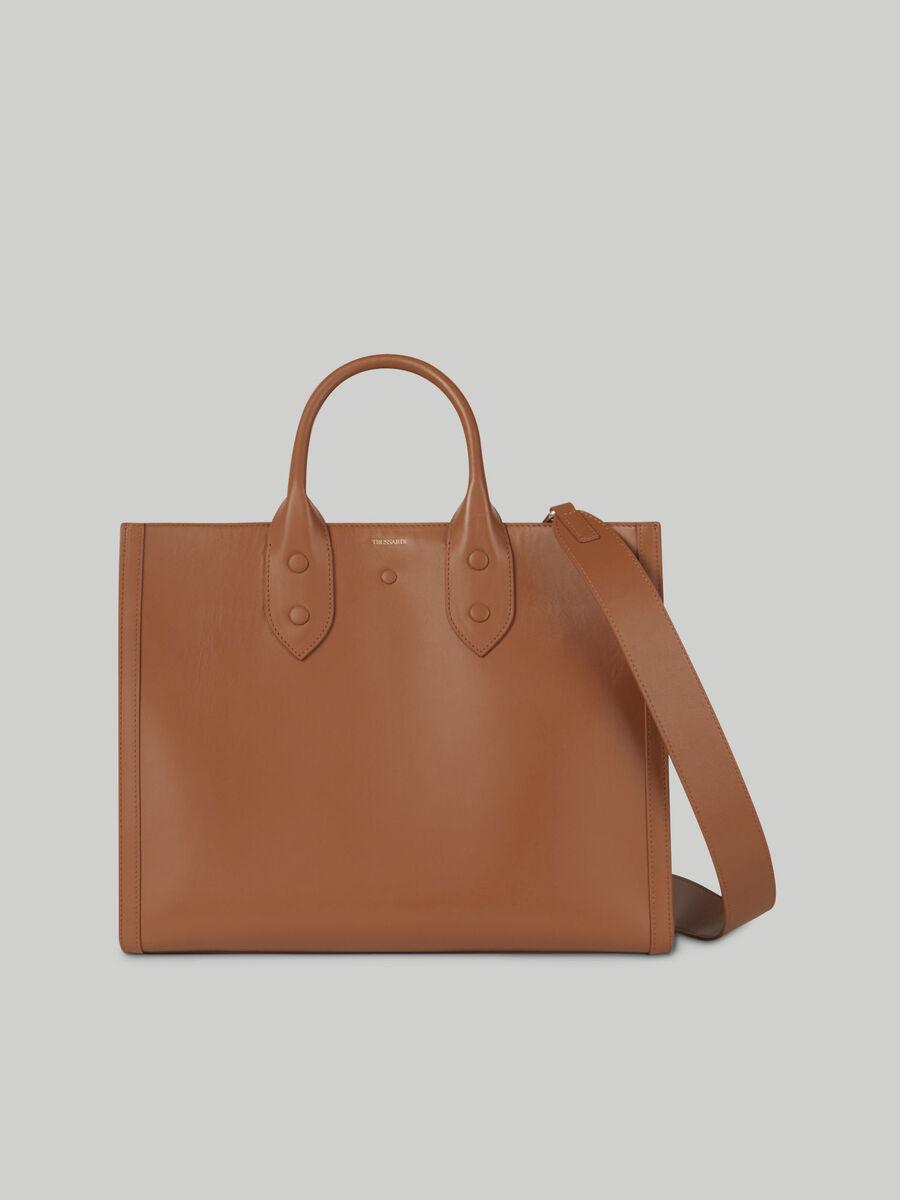 Shopping bag Venezia medium in pelle