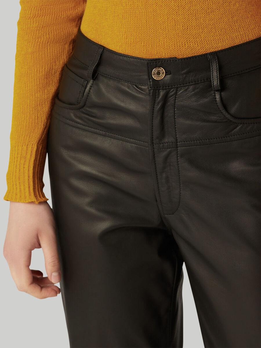 Pantalone in pelle Kansas