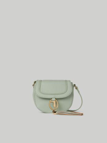 Small Ellie crossbody bag with deerskin print