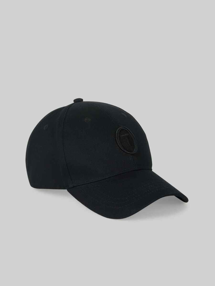 Cotton baseball cap with embroidery