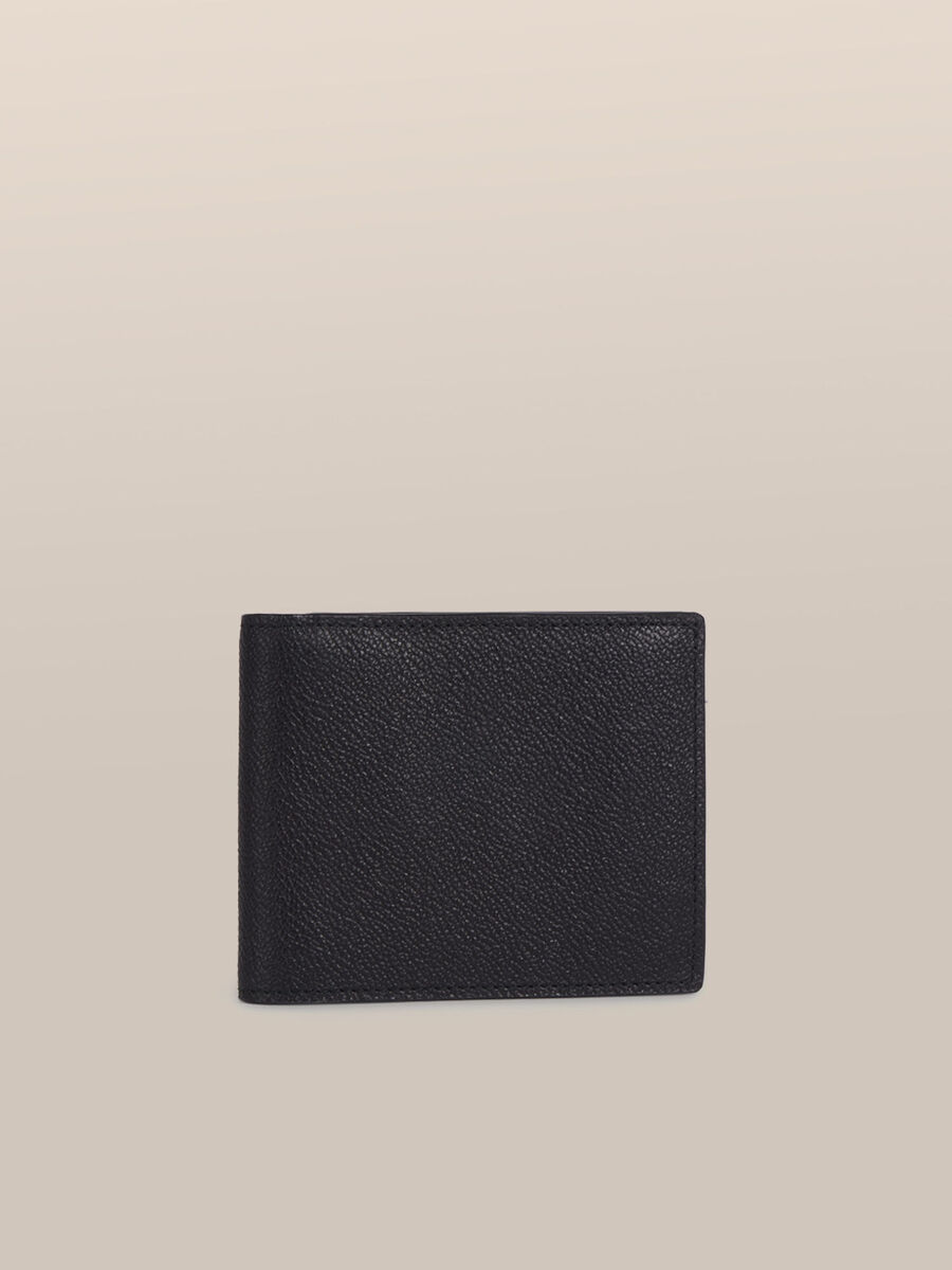 Leather Otto wallet with coin pocket