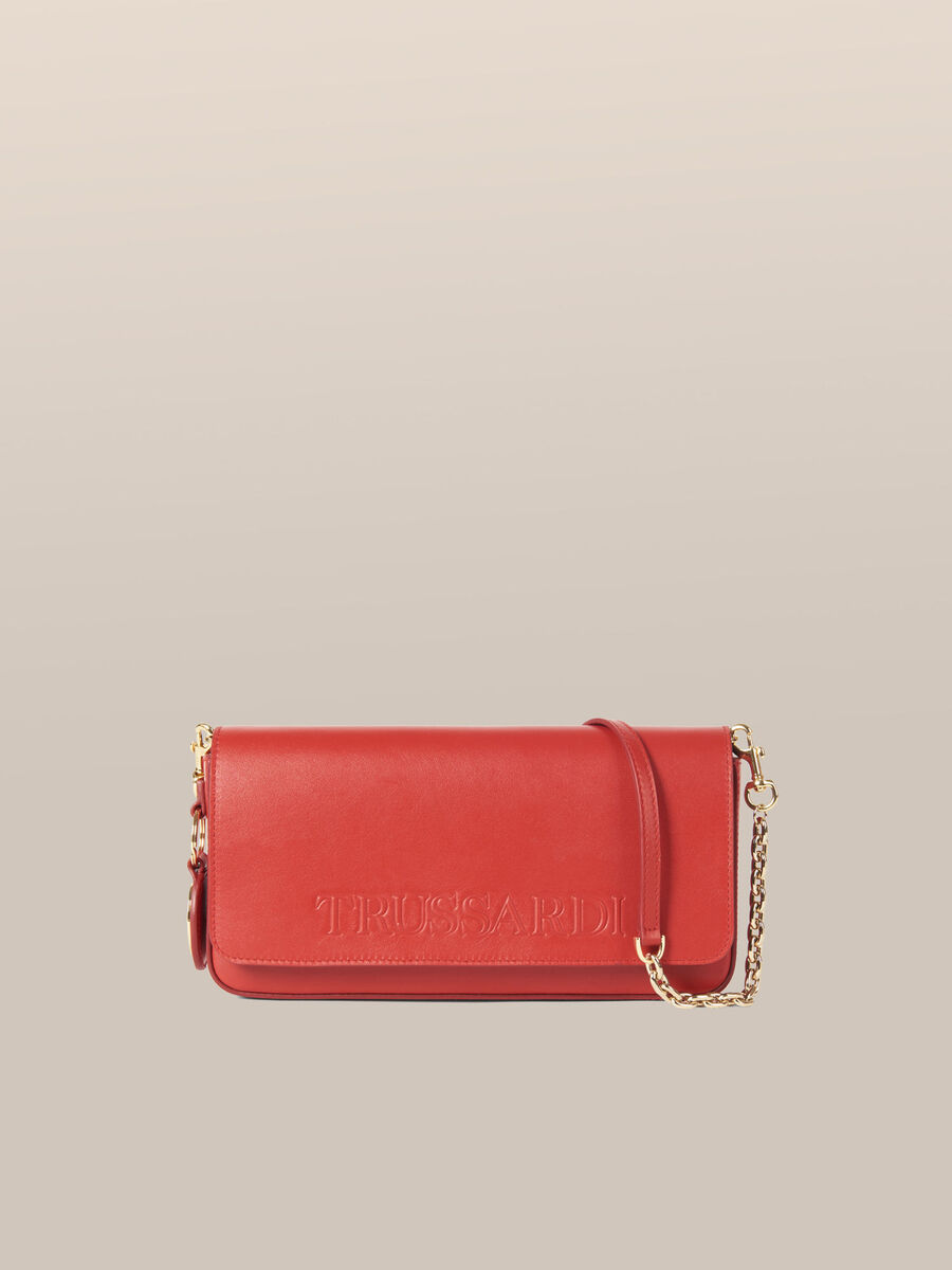Bianca Clutch in Milano leather