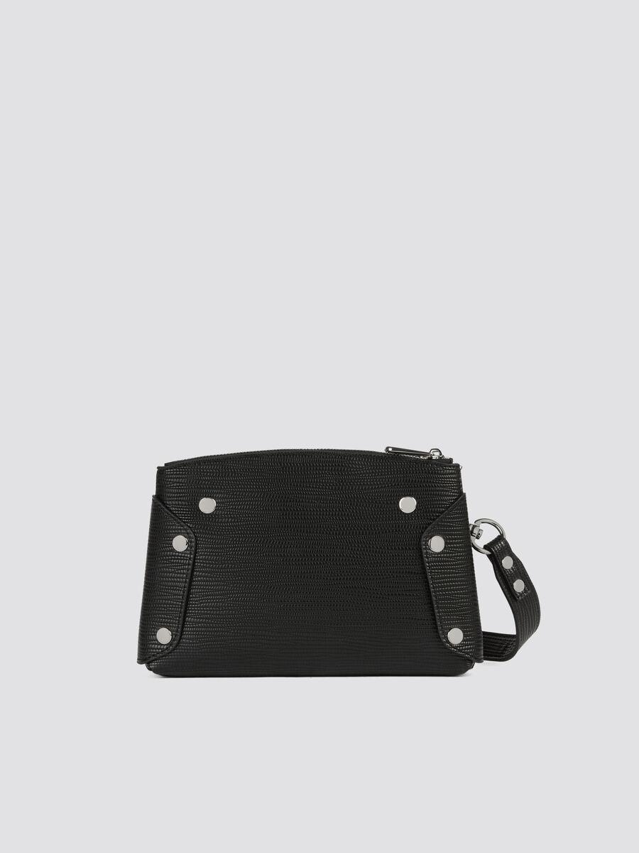 Small Melly Cacciatora bag in saffiano faux leather