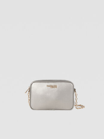 Medium Baby Cube Cacciatora bag in faux leather