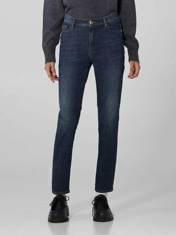Skinny 105 jeans in Cross stretch denim