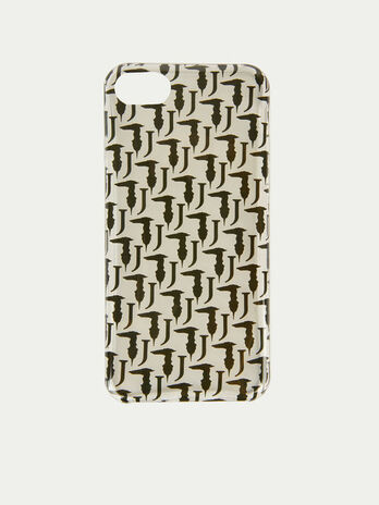 Bocconi iPhone cover with contrasting mini Levriero