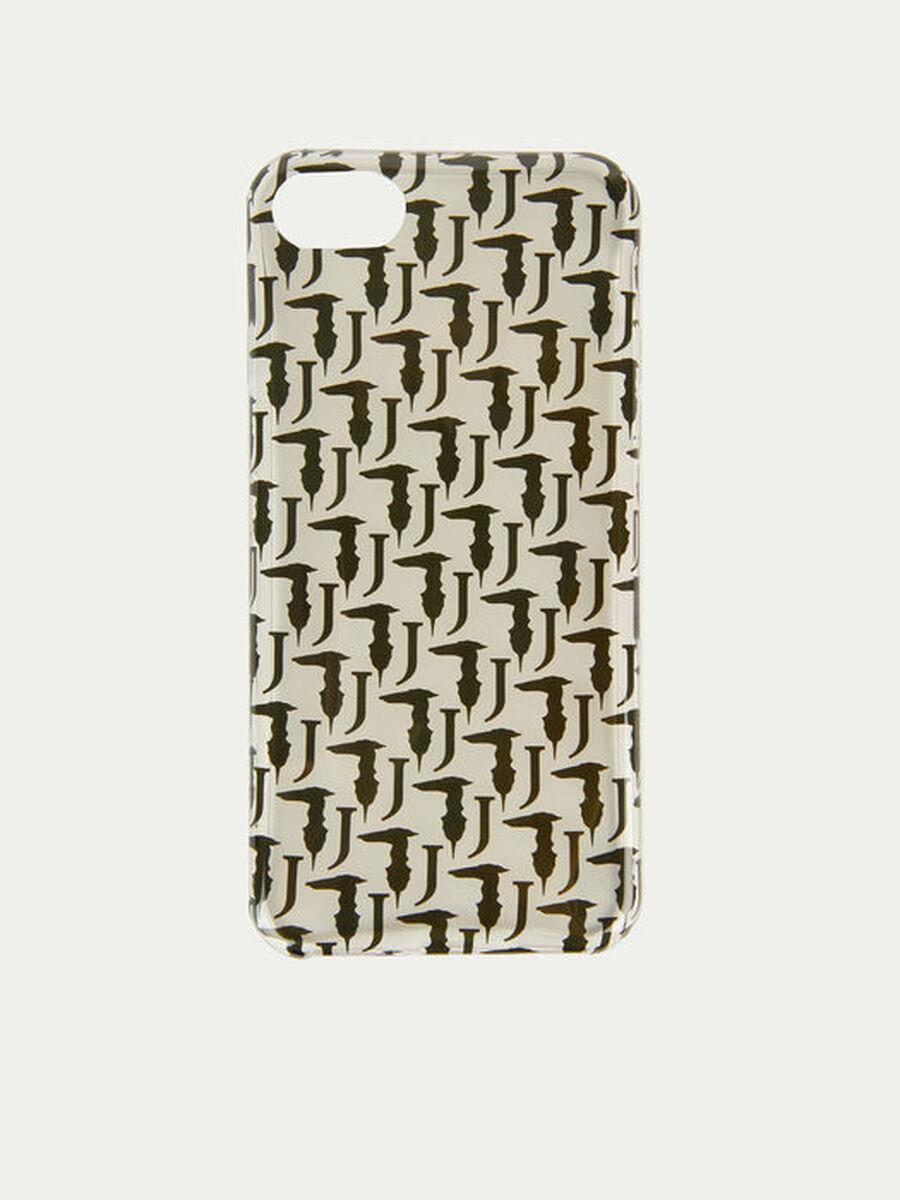Bocconi iPhone cover with contrasting mini Levriero
