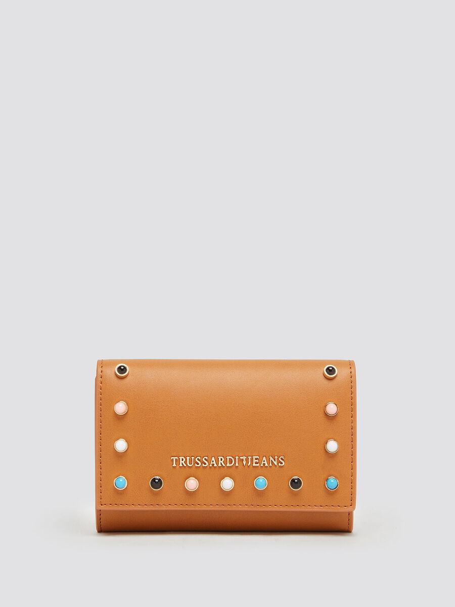Medium purse with gemstone details