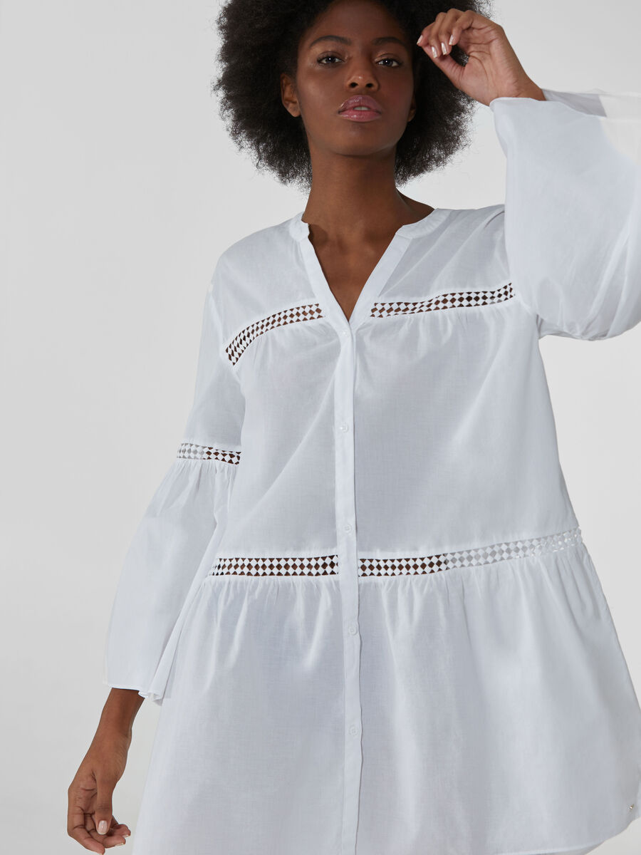 Light cotton muslin dress