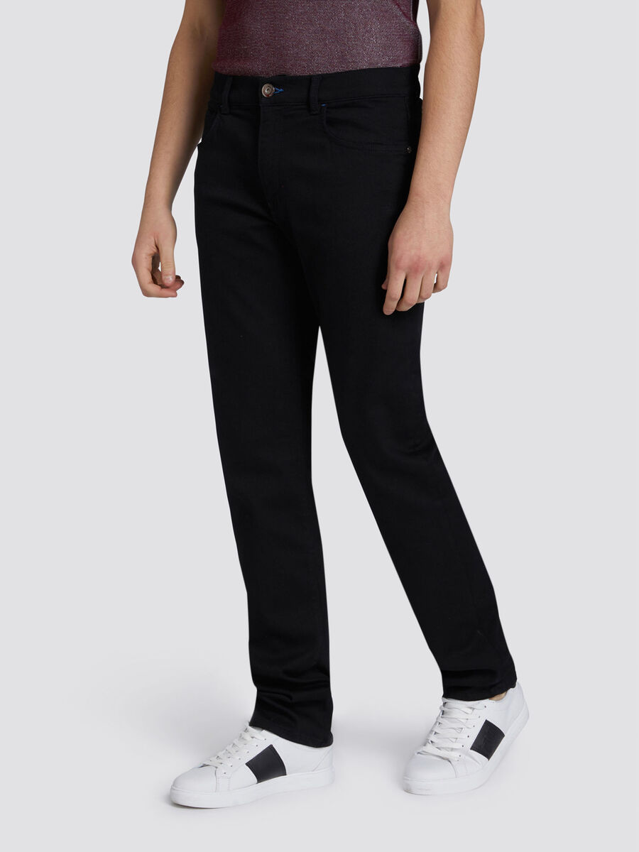 Icon Basic 380 jeans with rear patch