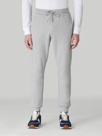Cotton fleece jogging bottoms
