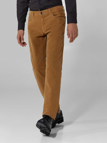 Compact velvet Close 370 trousers