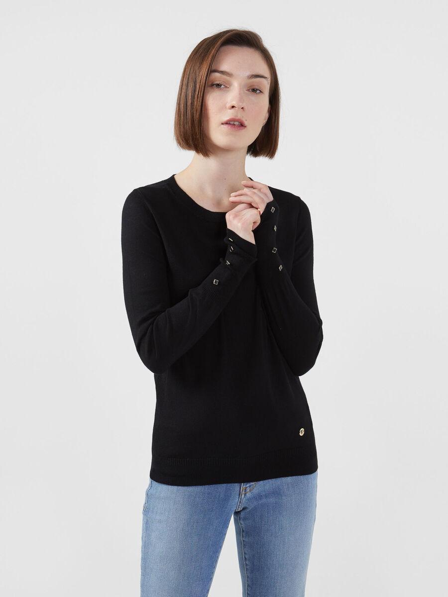 Shirt im Regular Fit aus Stretch Viskose
