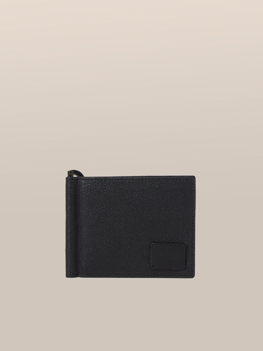 Business wallet in Crespo leather with clip