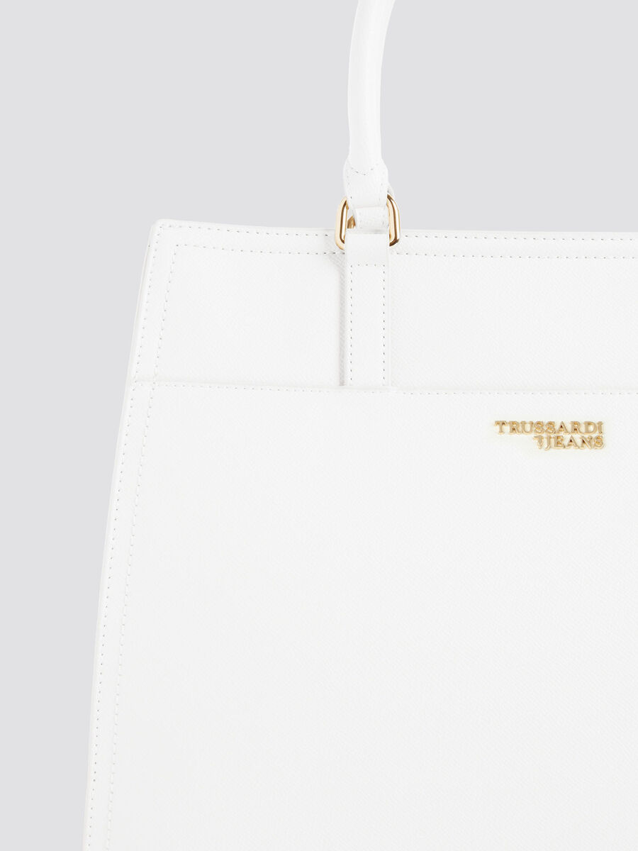 Tasche T-Easy Light Tote Large aus Saffian-Kunstleder