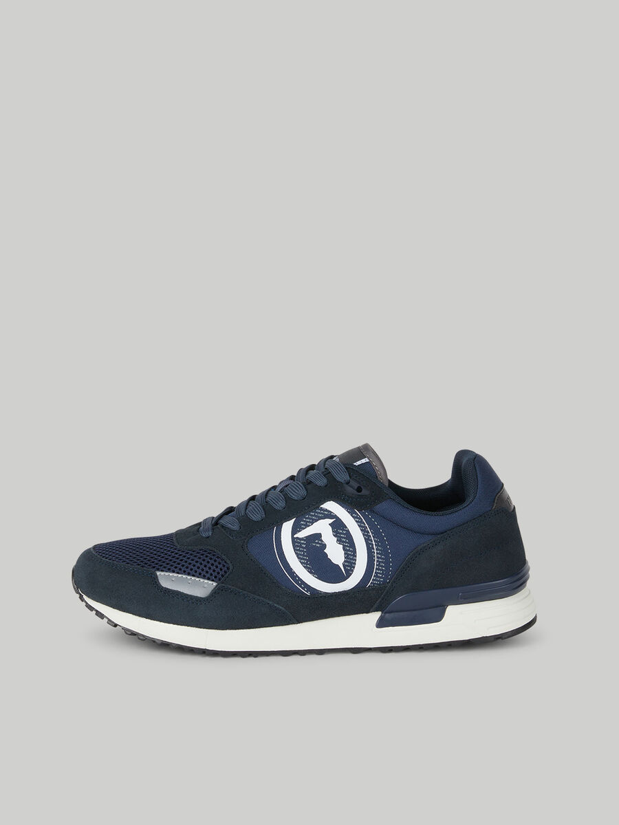 Nylon and suede Pentas sneakers