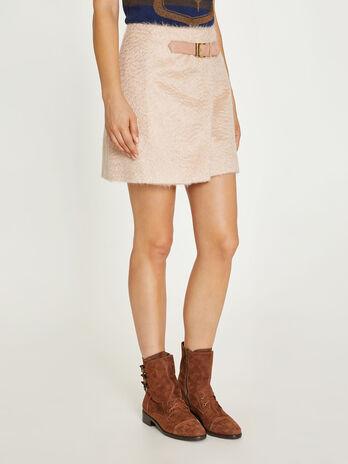 Short mohair skirt