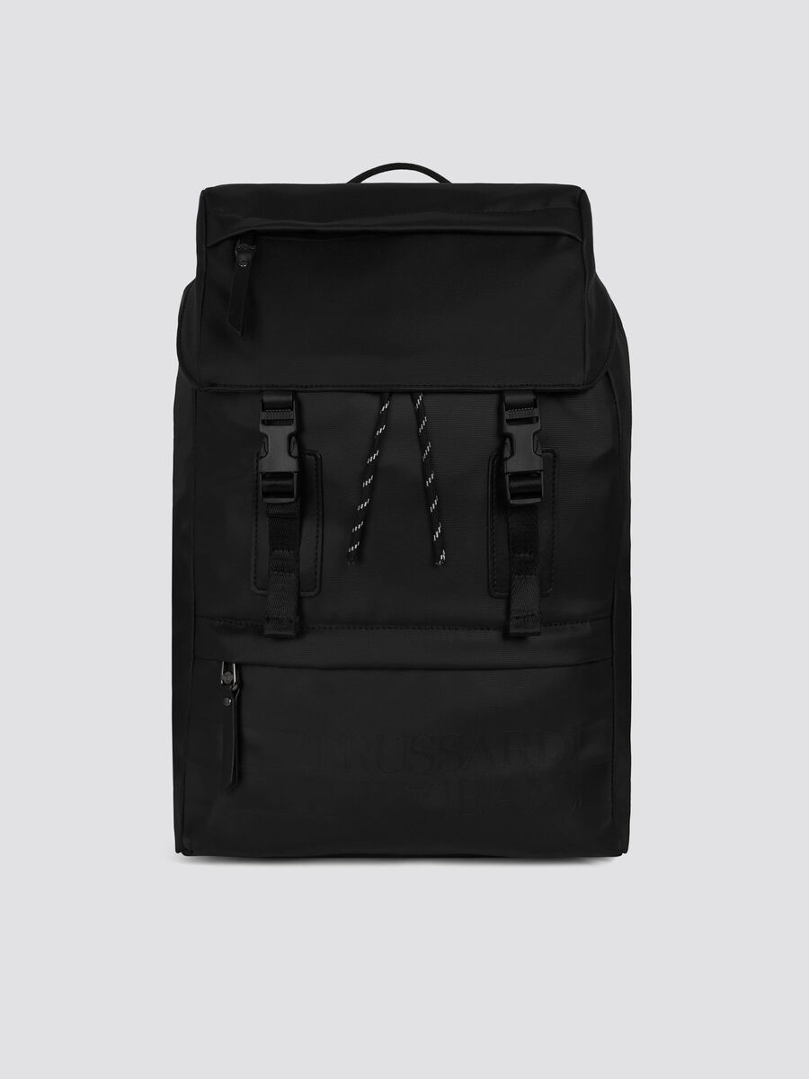 Zaino Turati medium in nylon rubber e cordura