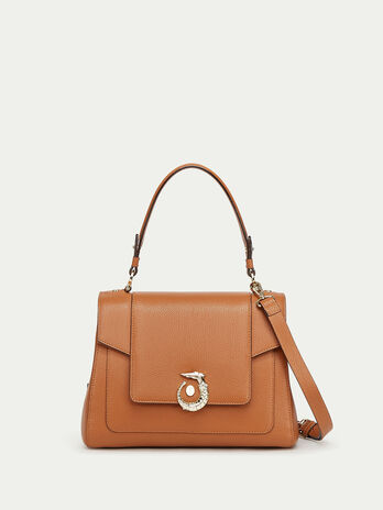 Icon Bag Lovy Regular aus Leder mit Levriero