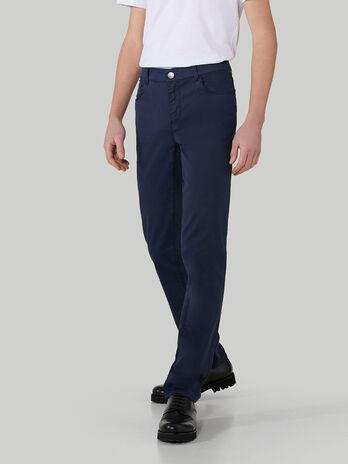 Close 370 trousers in cotton drill