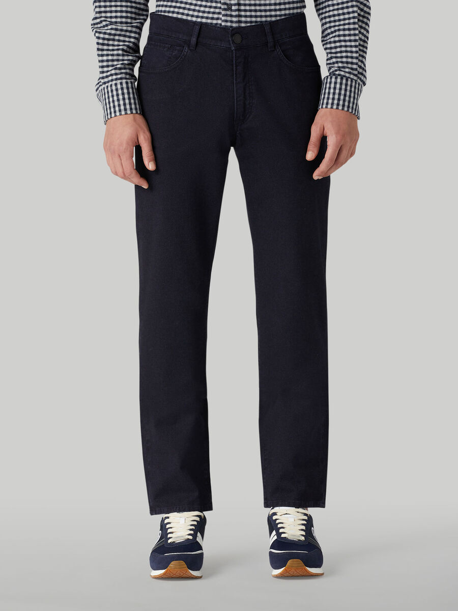 Icon 380 trousers in cotton gabardine