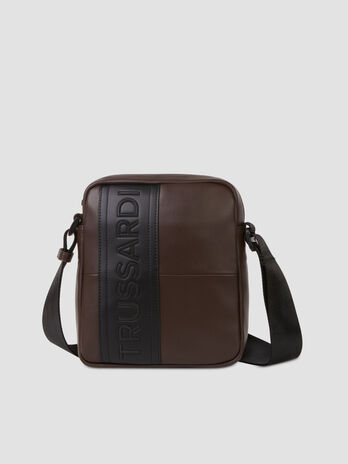 Reporter Bag Courmayeur Medium aus glattem Kunstleder