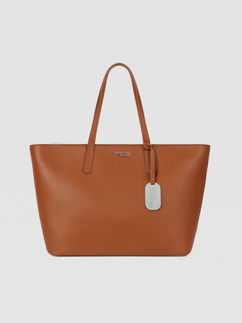 Large Miss Carry tote bag in saffiano with charm