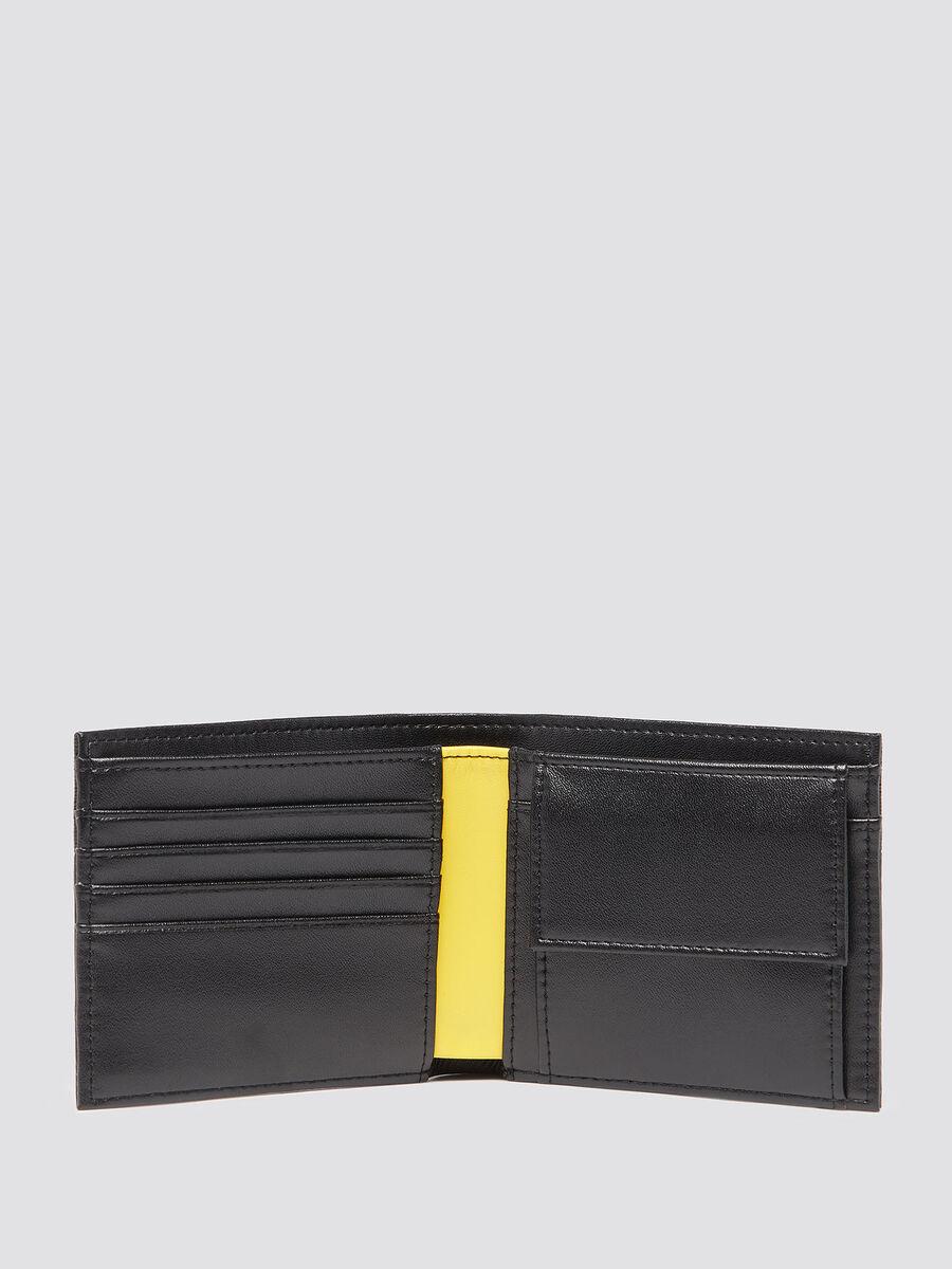 Portefeuille avec fibre de carbone et porte monnaie