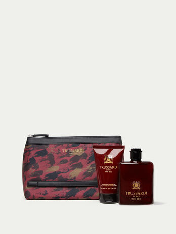 Trussardi Uomo The Red Perfume   Shower Gel and Toiletry Bag Set