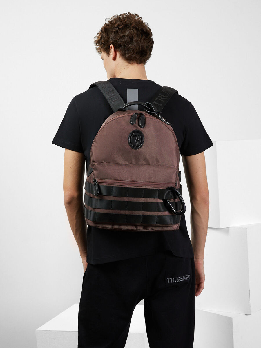 Trussardi Panda Capsule Collection backpack
