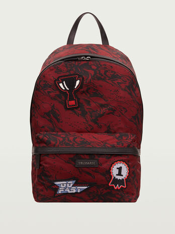 Racing backpack