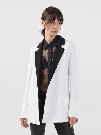 Technical cady tuxedo jacket
