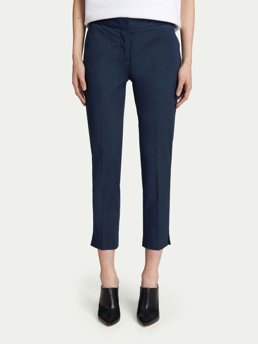 46af8676cd Pantaloni Capri regular fit in gabardine stretch