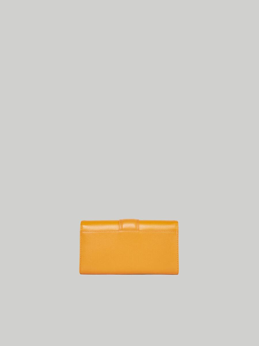 Plain Tulip continental purse