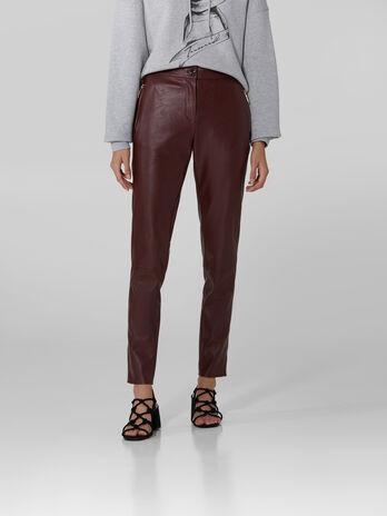 Hose aus weichem Kunstleder