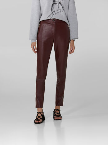 Pantalon en similicuir souple