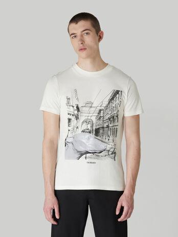 T-shirt regular fit in puro cotone