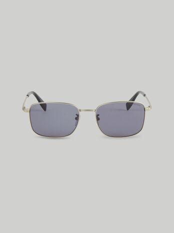 Gafas de sol rectangulares de titanio