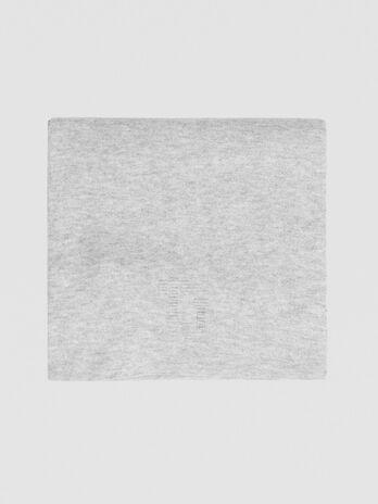 Echarpe en laine melangee Portalogo 3D