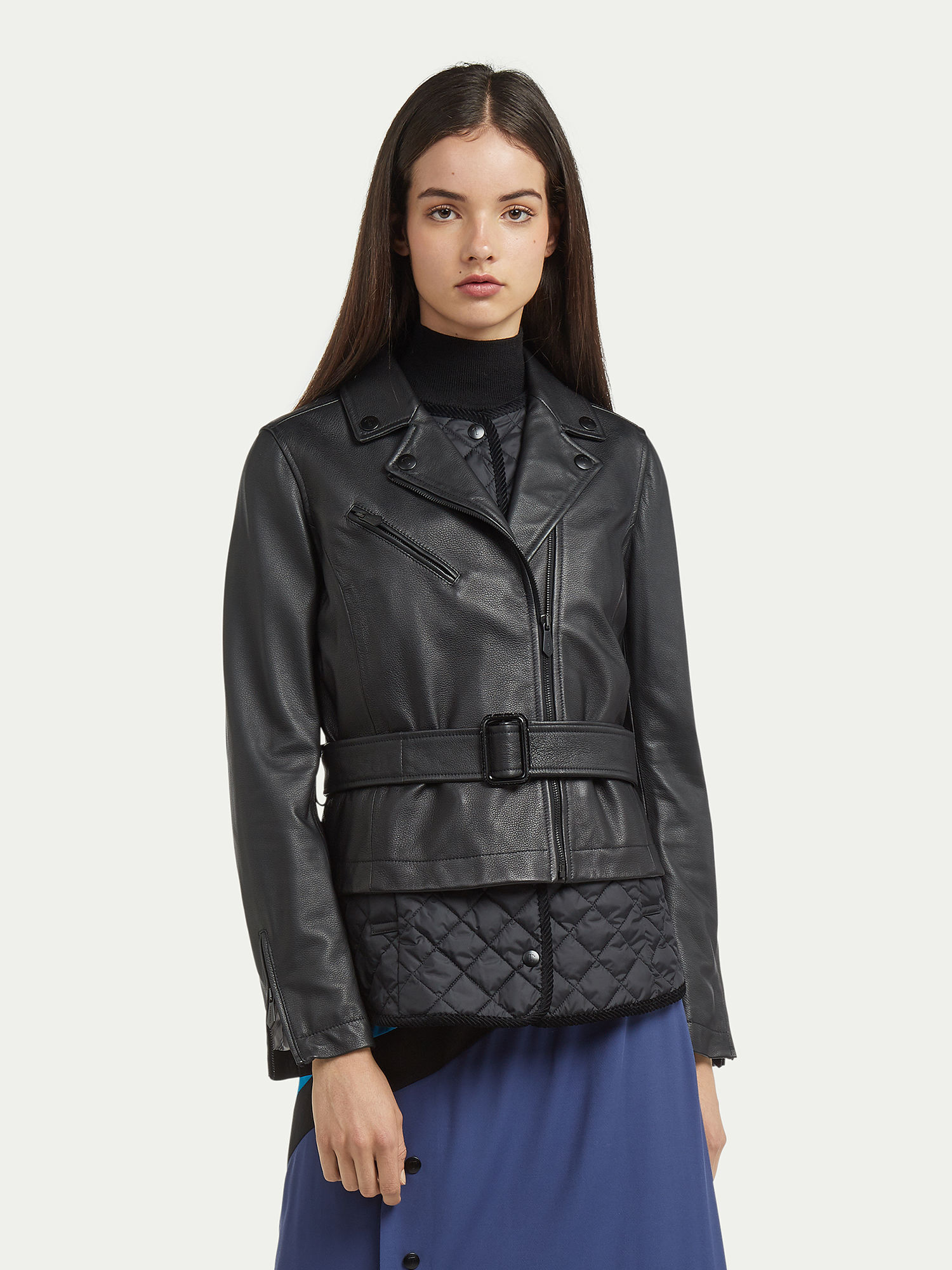 c33e8289d05 Hammered-leather-biker-jacket -with-double-quilting TRUSSARDI 50 01 8057735780211 F.jpg