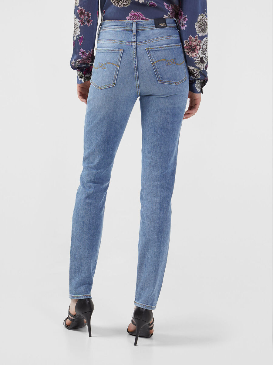 Skinny 105 jeans in stretchy Alis denim