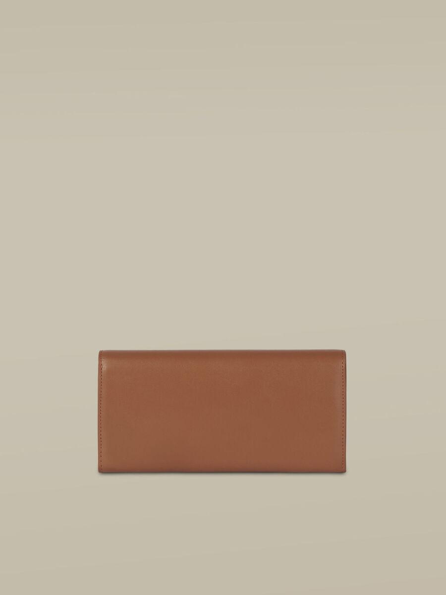 Portefeuille Continental Venezia en cuir