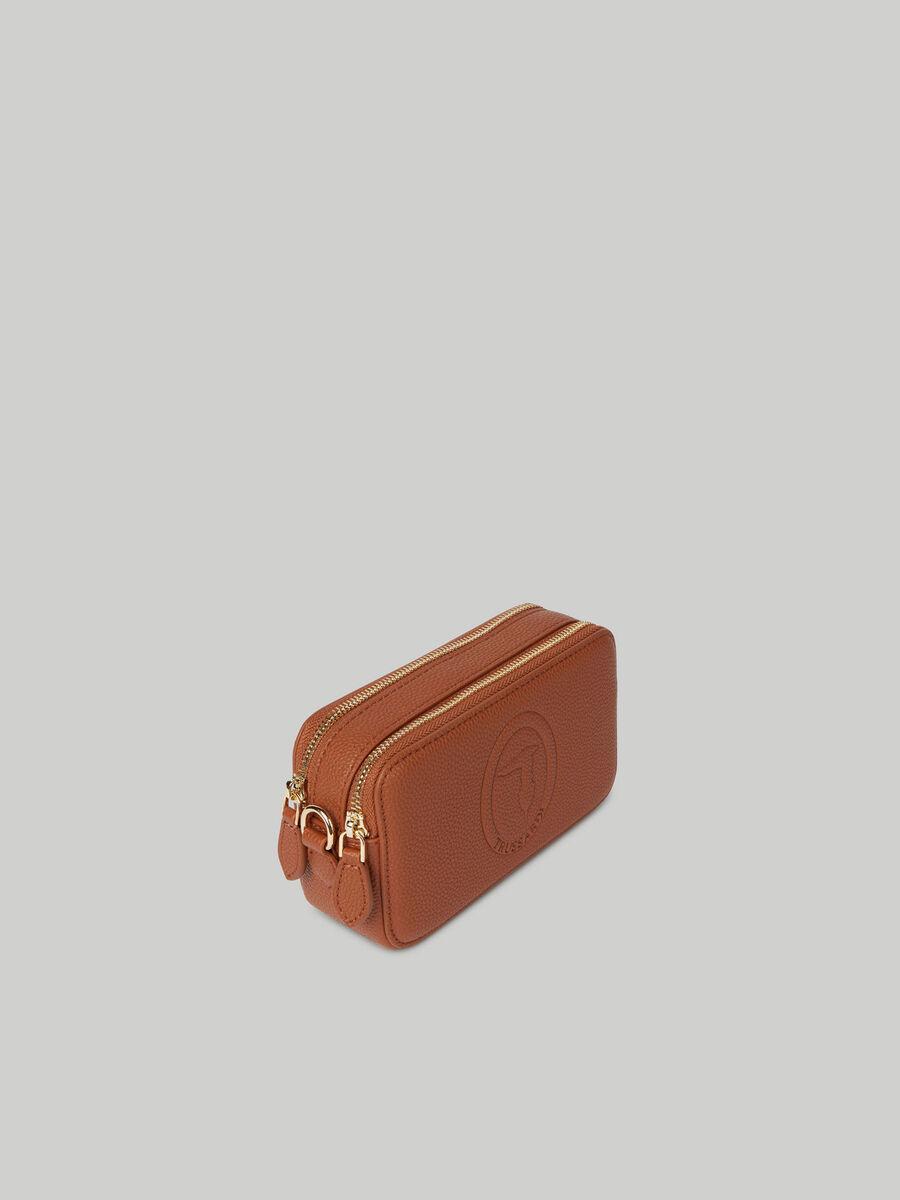 Iris camera bag with deerskin print
