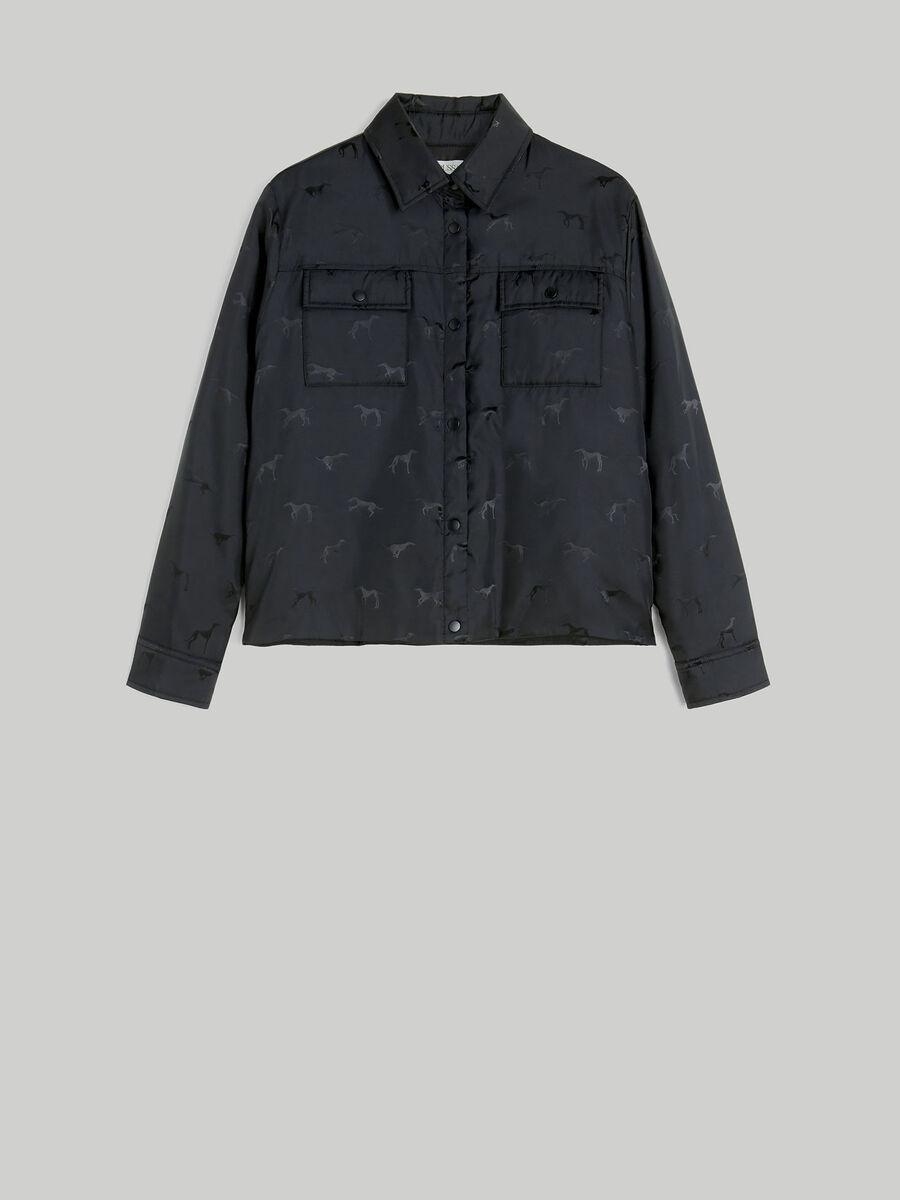 Monogram jacquard jacket