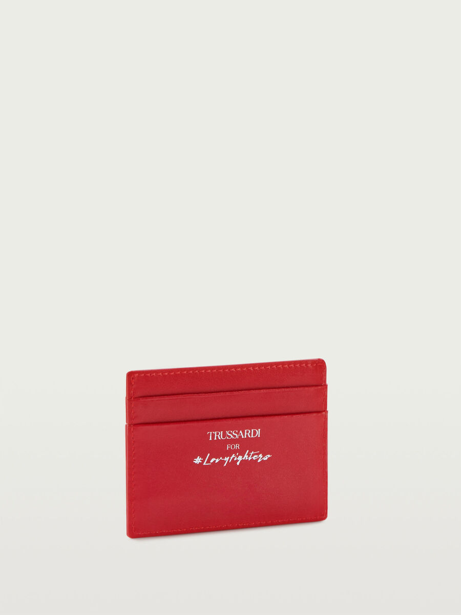 Lovy Fighters card holder in Crespo leather