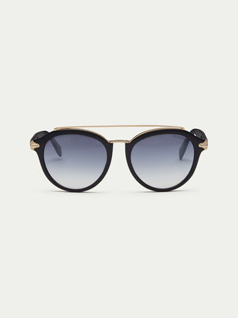 Lucid sunglasses with top bar bridge